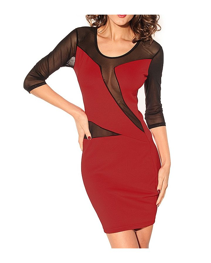 Superbe robe sexy rouge