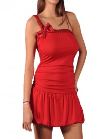 Robe sexy 3980 rouge