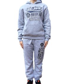 Jogging US MARSHALL Gris Enfant Mixte