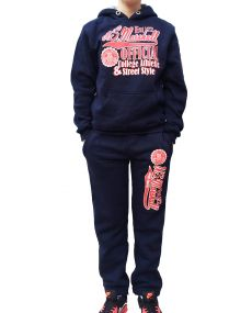 Jogging US MARSHALL Bleu marine Enfant Mixte