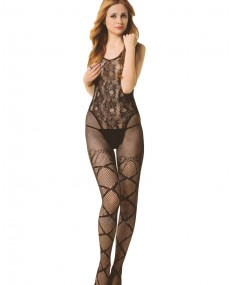 Bodystocking noir BE3821