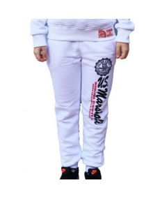 Pantalon de Jogging Enfant US MARSHALL blanc