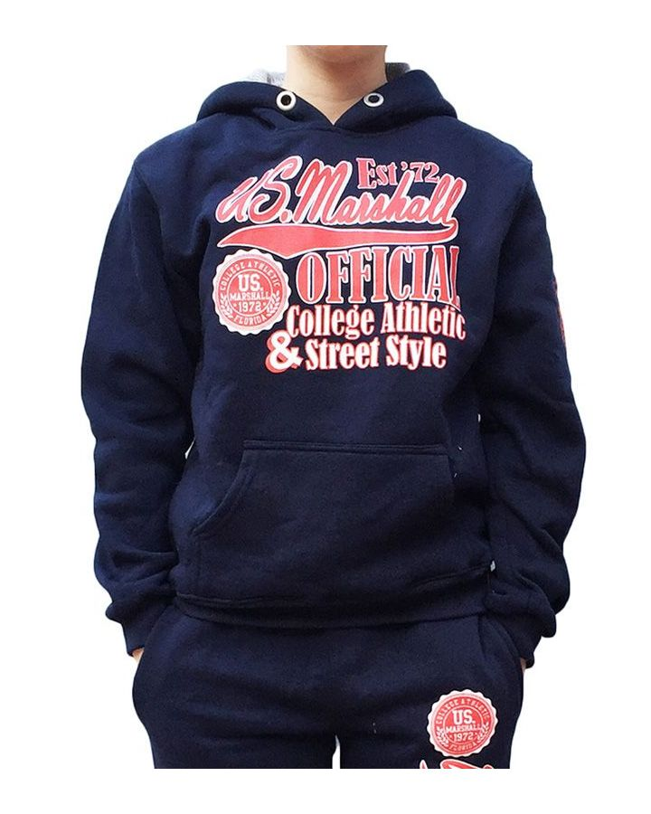 Sweat Enfant US MARSHALL bleu marine