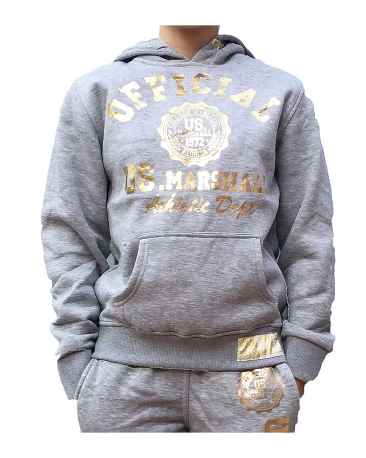 Sweat Enfant US MARSHALL gris