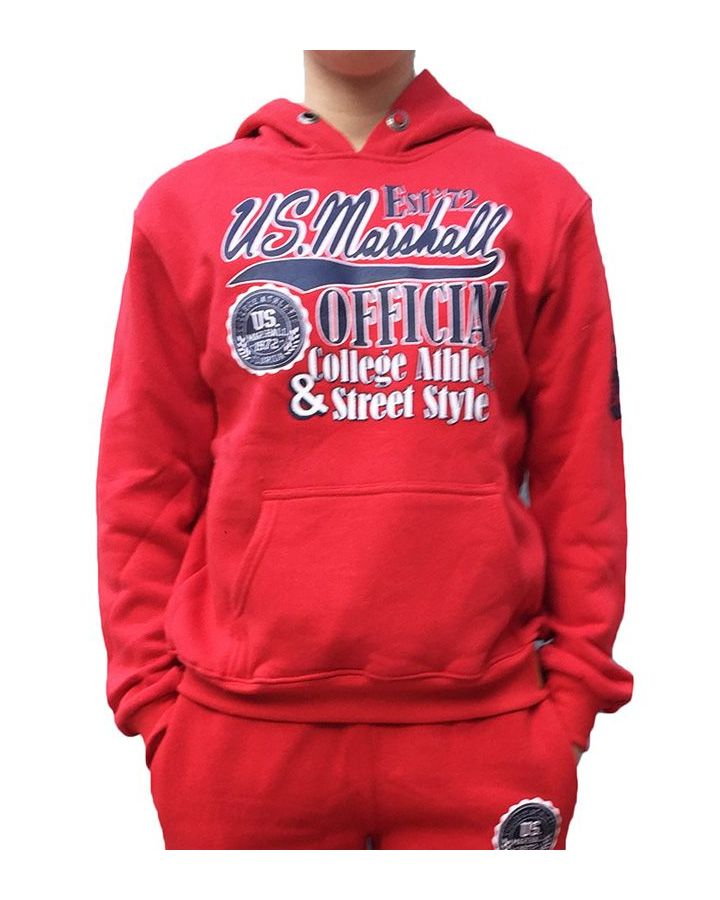 Sweat Enfant US MARSHALL rouge