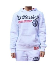 Sweat Enfant US MARSHALL blanc
