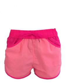 Short de plage 2 tons rose